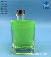 300ml长方形丝口玻璃奶瓶