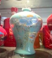 喷涂玻璃酒瓶