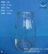 200ml塑料盖玻璃酸奶瓶